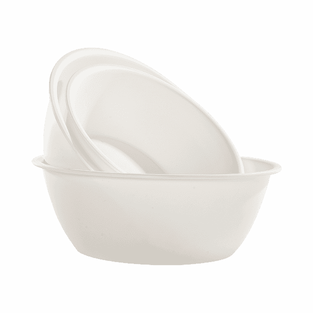 Xiaomi Clean Jazy Style Frosted Round Bowl 310x110 mm. (Beige)